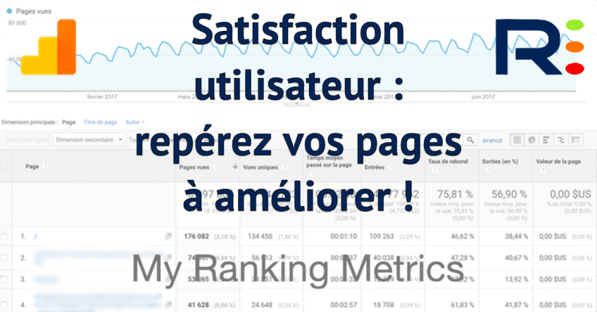 SEO, satisfaction utilisateur et analytics rmtech