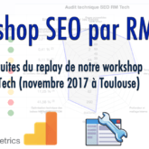 Workshop SEO RM Tech